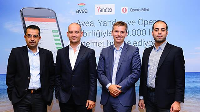 avea yandex opera ucretsiz internet