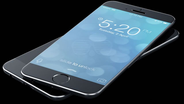 iphone 6 genis ekran