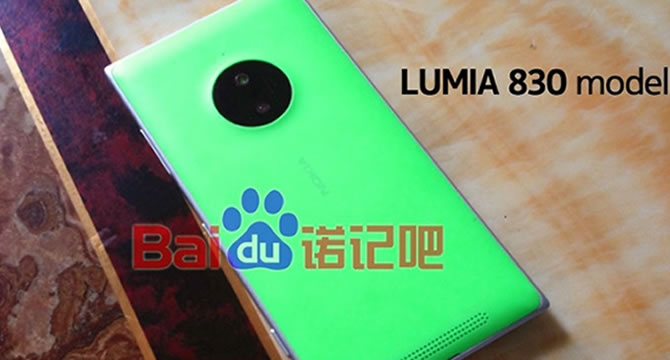 Nokia Lumia 830 Detaylı Görselleri Sızdırıldı