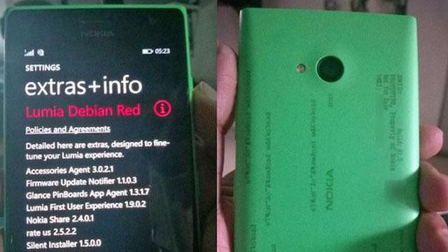 selfie telefonu nokia lumia 730