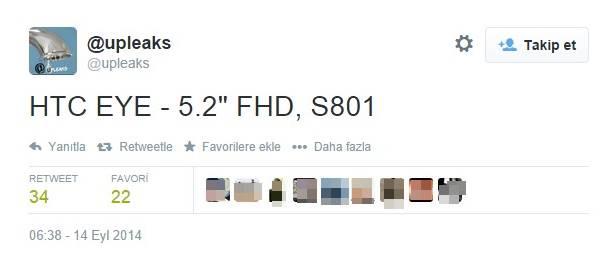 htc eye upleaks tweet