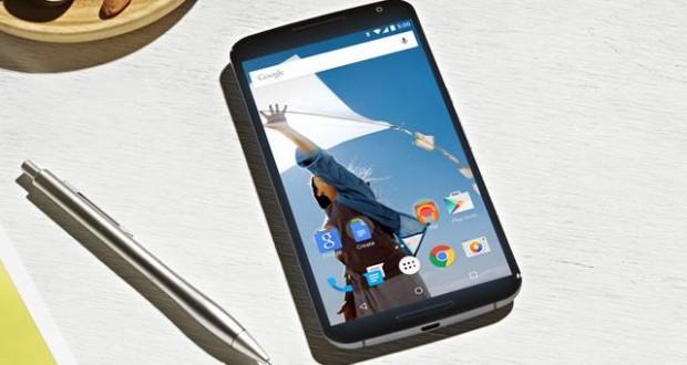 google nexus 6 android L gorunum