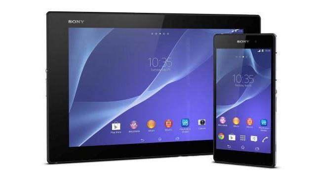 sony xperia z2 - z2 tablet