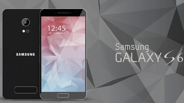 Samsung Galaxy S6 konsept