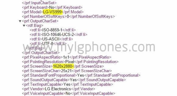 LG G4 ekran