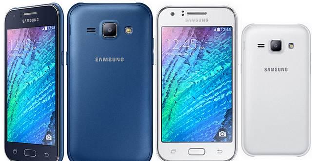 Samsung Galaxy J1 renk