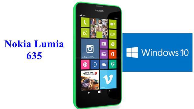Windows 10 Nokia Lumia 635 Telefonda Test Edildi