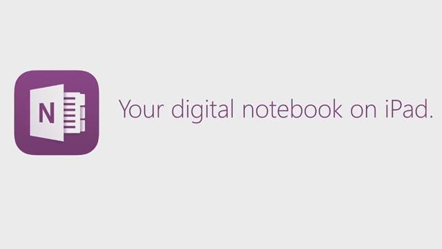 OneNote iPad Dijital Mürekkep Deneyimi