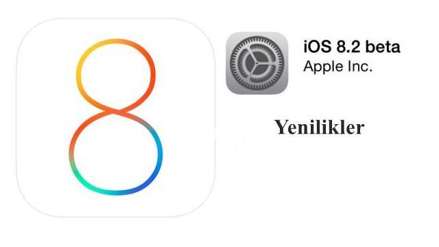 apple ios 8-2 yenilikler