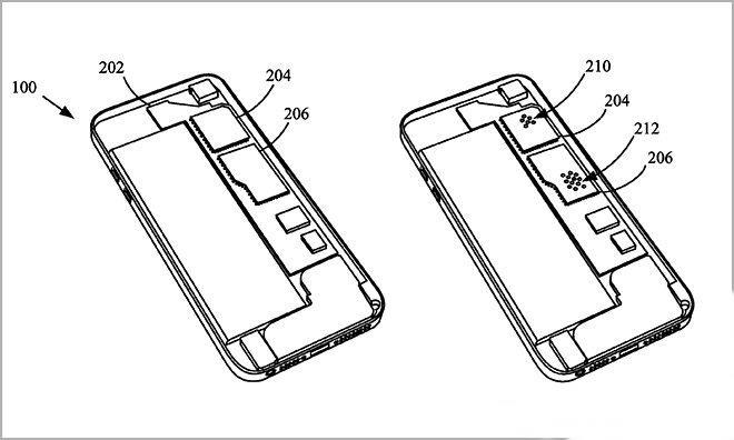 patent apple su gecirmez iphone