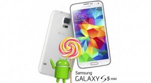 Samsung Galaxy S5 Mini Lollipop Alacak