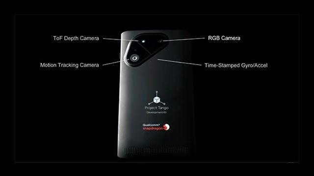 Project Tango akıllı telefon