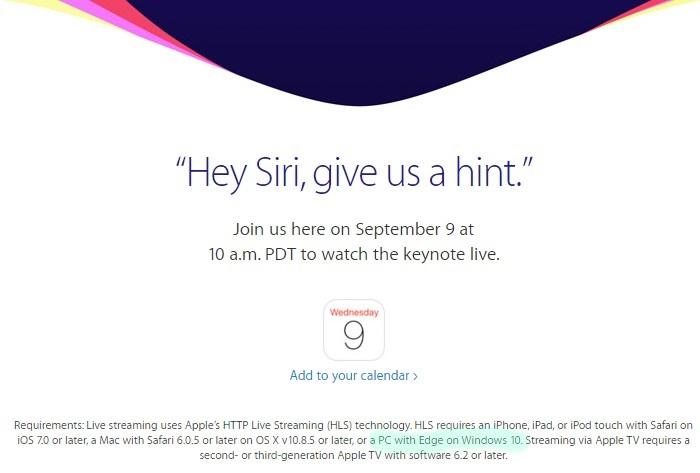 Apple iPhone Etkinliği Windows 10