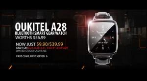 İşte iOS ve Android Uyumlu OUKITEL A28 Akıllı Saat