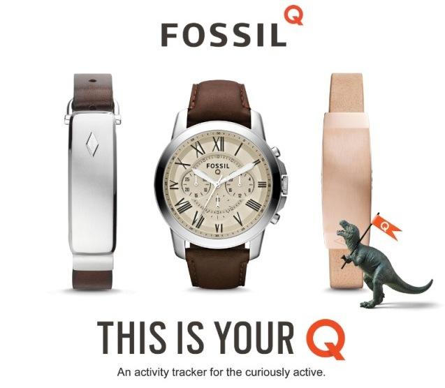 fossil q serisi akilli saatler