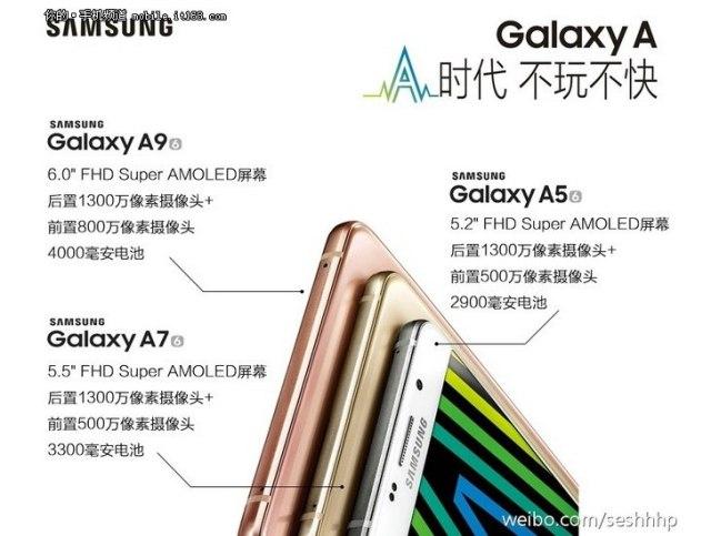 Samsung Galaxy A9 ekran