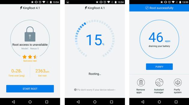 android-telefon-root-etme-kingroot