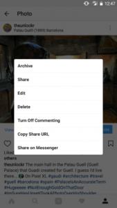 instagram-gizleme
