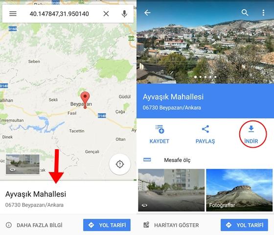 google-haritalar-cevrimdisi-kullanmak