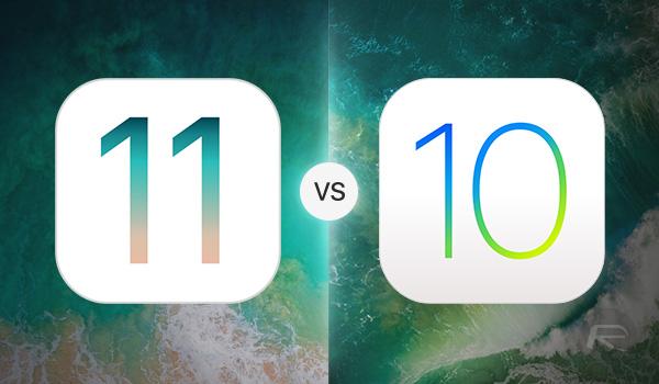 iOS-11-vs-iOS-10