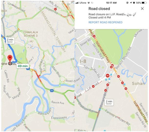 google-haritalar-trafik-sikisikligi